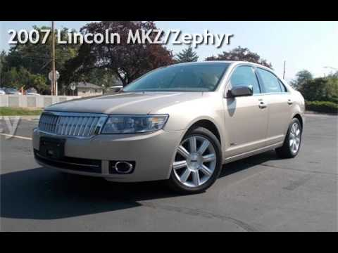 Research 2007                   Lincoln Zephyr pictures, prices and reviews