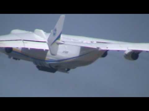 An 225 Мрия: Take-Off  From