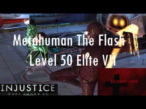 Injustice Gods Among Us iOS - Metahuman The Flash Promoted to Level 50 Elite VII