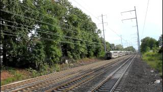 NJ Transit / Amtrak: Northeast Corridor Action at North Elizabeth