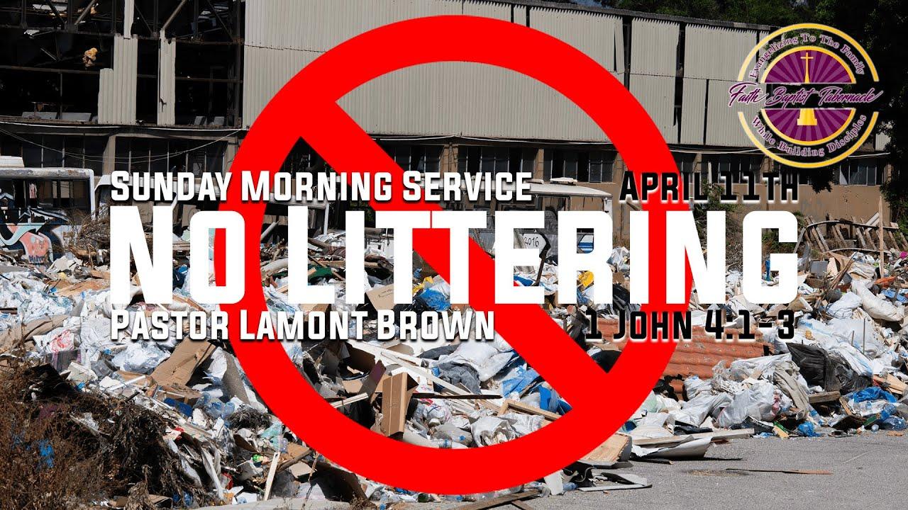 Sunday Morning Service   April 11th   Pastor Lamont Brown   Faith Baptist Tabernacle