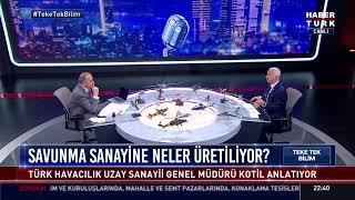Teke Tek Bilim'de Fatih Altaylı'nın konuğu Prof. Dr. Temel Kotil... #YAYINDA
