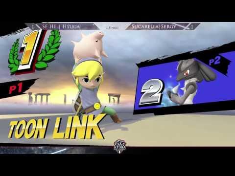 Hail Smash III - SF HE | Hyuga (Toon Link) Vs. SC | Serge (Lucario, Roy) Losers Finals - Smash Wii U
