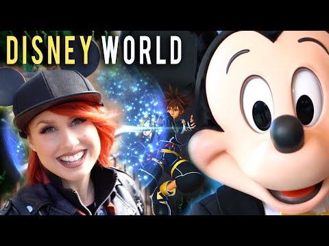 My Epic KINGDOM HEARTS III Trip to Walt Disney World!
