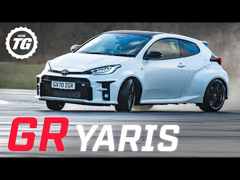 Chris Harris drifts the Toyota GR Yaris: a rally car for the road | Top Gear