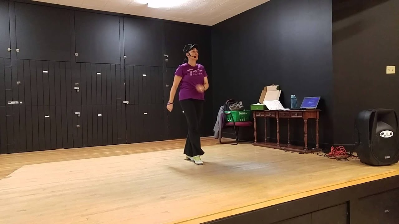 Nuttin' for Christmas Clogging Routine - YouTube