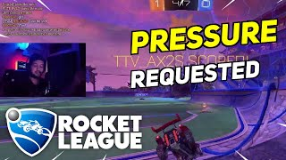 Daily Rocket League Moments: NO PRESSURE. (REQUESTED SHOT)