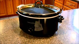 Sunbeam 7 Quart Crock Pot Review Slow Cooker Unboxing