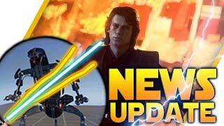 NEWS UPDATE: New Droideka Details, XP Fix, Proper Anakin Nerf & More - Battlefront 2