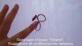 Урок вишивки, закреп нитки