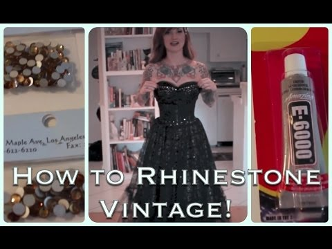 diy-how-to-add-sparkle-to-a-vintage-dress-with-rhinestones-by-cherry-dollface