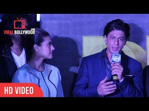 Shahrukh Khan Full Speech   Tukur Tukur Song Launch Dilwale