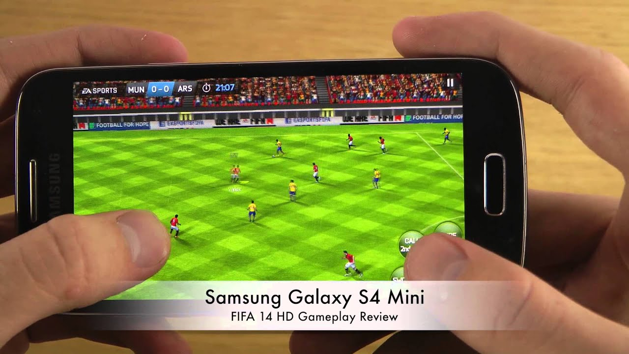 Fifa 14 samsung galaxy s4 mini hd gameplay review youtube voltagebd Images