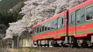 芦ノ牧温泉南駅の春 その3