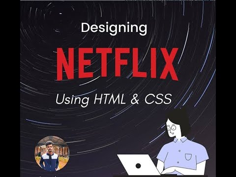 Building Netflix Clone From Scratch Using HTML & CSS