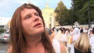 флэш-моб невест в центре Питера(, 2012-07-09T04:54:17.000Z)