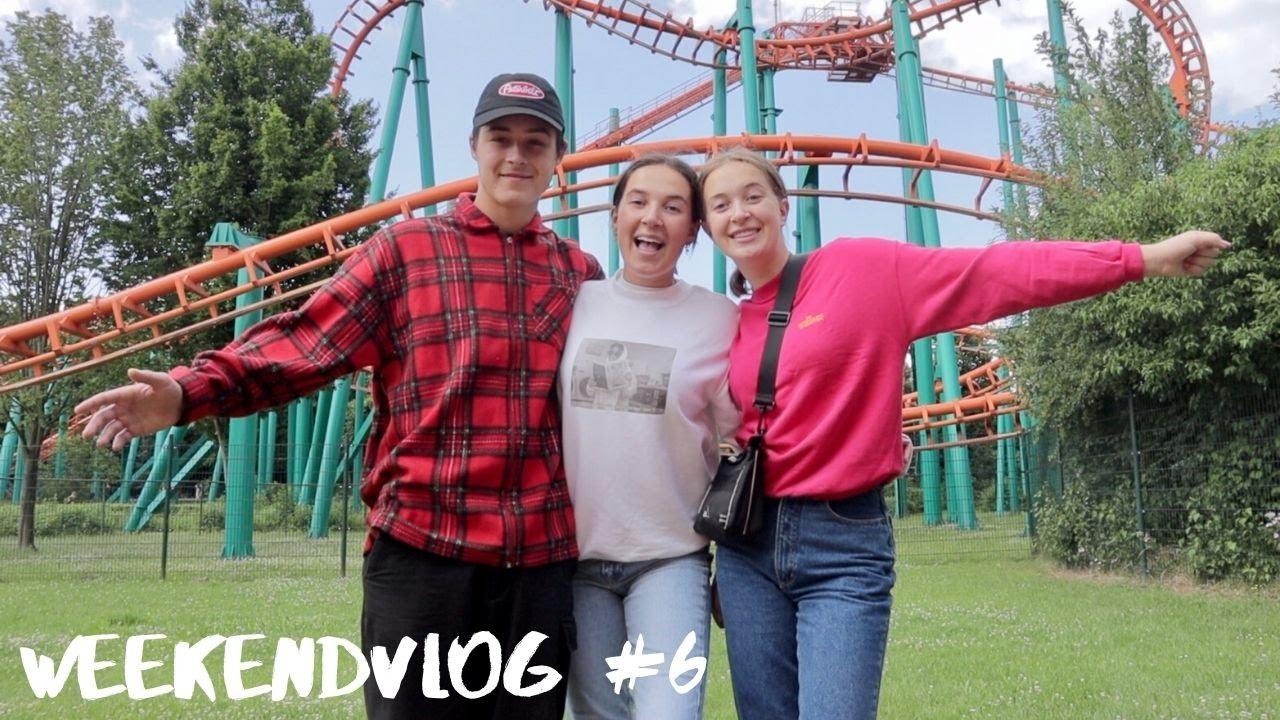 WALIBI MET VINCE EN LOT & SHOPLOG - Weekendvlog 6 || Isa Luna