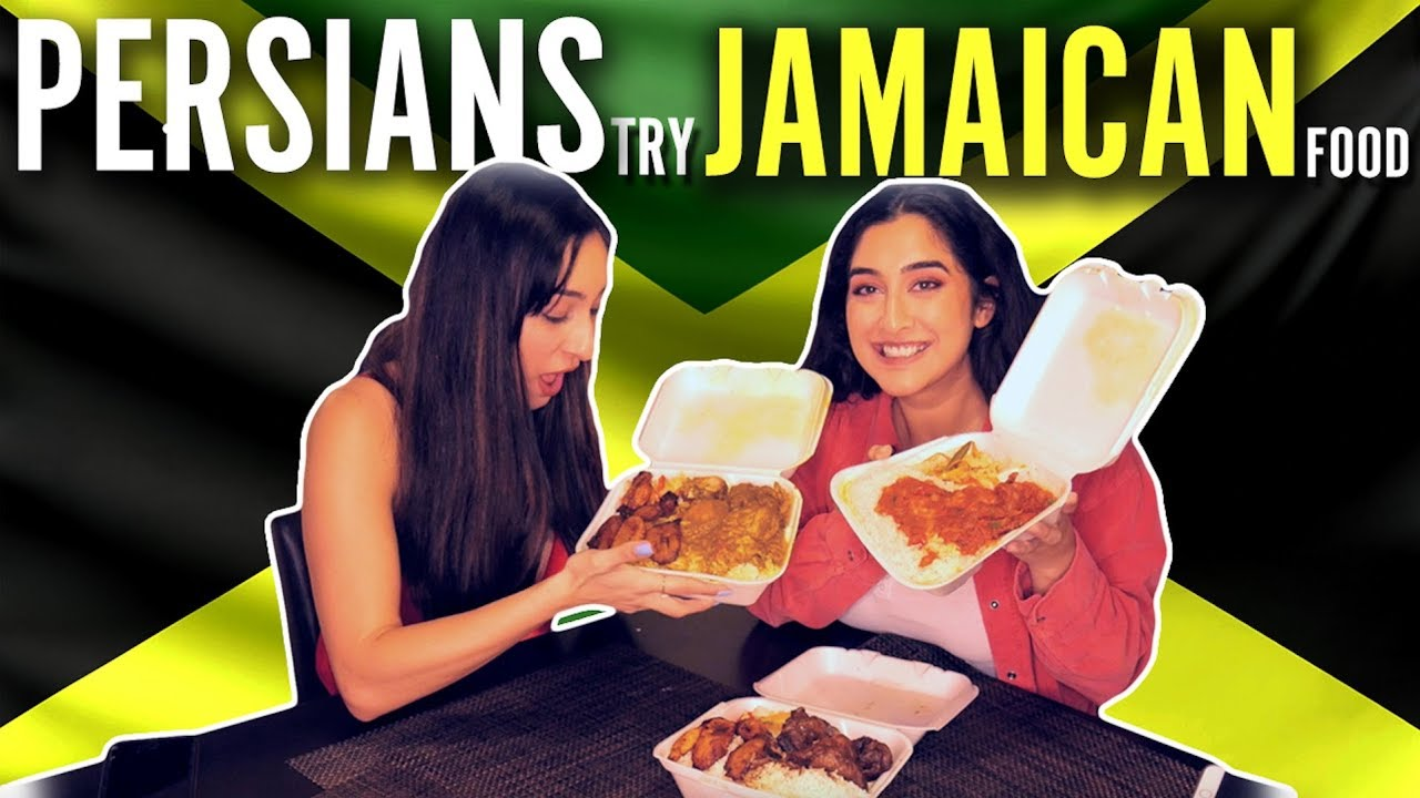 Persians Try Jamaican Food
