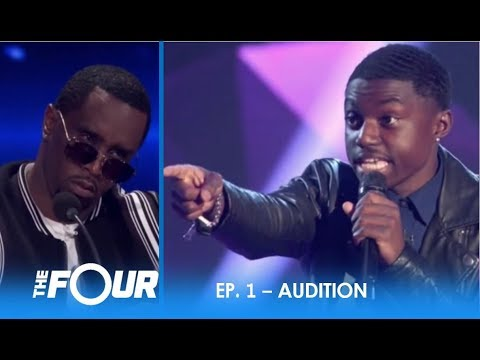 """Quinton Ellis: This Talented Kid Reminds """"Diddy"""" Of a Young Usher!   S2E1   The Four"""