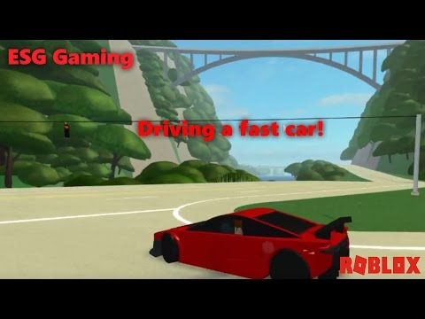 Driving a supercar in roblox! Roblox Ultimate Driving Delancy Gorge