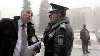 Doi polițiști din cadrul IPJ Vaslui și un jandarm nu au reușit să mă intimideze - 04.02.2019