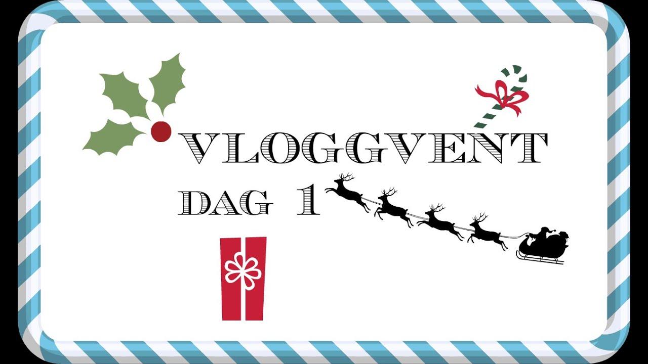 Vloggvent dag 1 *Kakebaking, julepynt og superskriver*