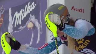 Resi Stiegler - Slalom #2 - Run 1 - 2015 Nature Valley Aspen Winternational