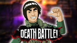 Might Guy Opens a Gate to DEATH BATTLE!