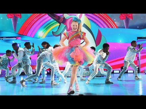 JOJO SIWA'S KIDS' CHOICE AWARDS FULL PERFORMANCE!! +EPIC SLIME!!