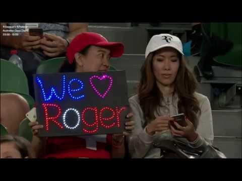 Australian Open 3rd Round – Richard GASQUET [29] (FRA) V Roger FEDERER [2] (SUI)