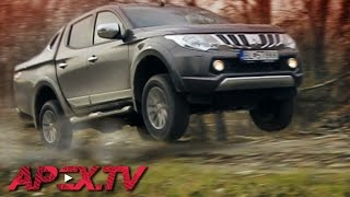 Mitsubishi L200 / Triton: Top Pickup Truck? Offroad / On Road - MAJO BÓNA / APEX.TV [ENG SUB]