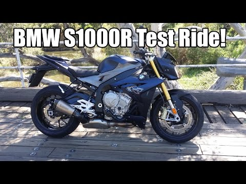 BMW S1000R Test Ride! Review!