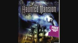 The Haunted Mansion Soundtrack / BGM - The Singing Bust Quartet's Song
