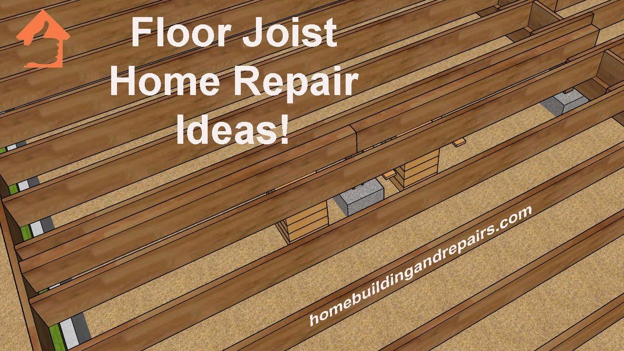 How To Raise Sagging Floors Under Walls Crawle Repair Ideas