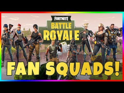 LET'S PLAY FORTNITE WITH FANS! Fortnite Battle Royale Subscriber Squads!