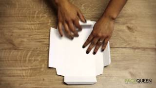 How to Fold Your PACKQUEEN Box - Slim Line C6, A6, A5, A4 & Jewellery Gift Boxes