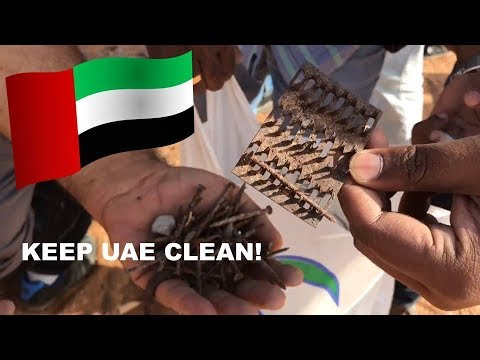 Keep UAE clean! | HamiVlogs