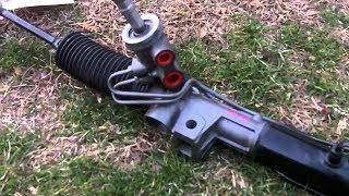 Chrysler Dodge Как разобрать рейку рулевую \ How to disassemble the steering rack