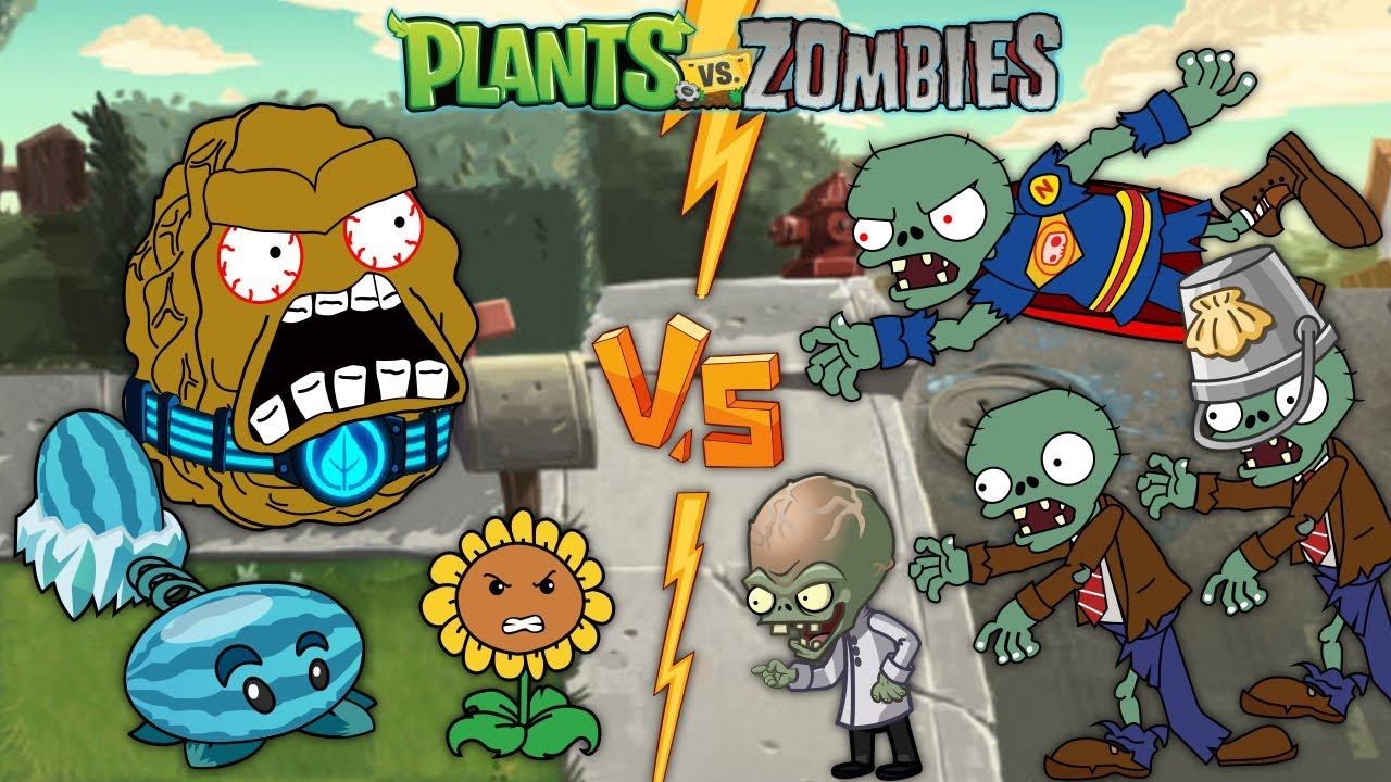 Heroes in PVZ 2 PART 1 Plants vs Zombies 2 Animation