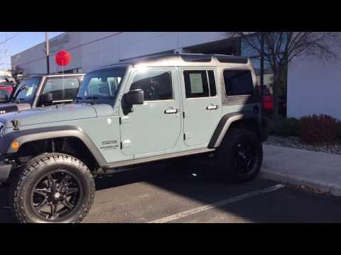 Dream 4x4 2014 Jeep Wrangler Unlimited Sport with Smittbilt Safari Hard Top