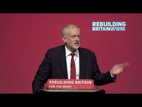 Labour Conference 2018: Jeremy Corbyn's speech
