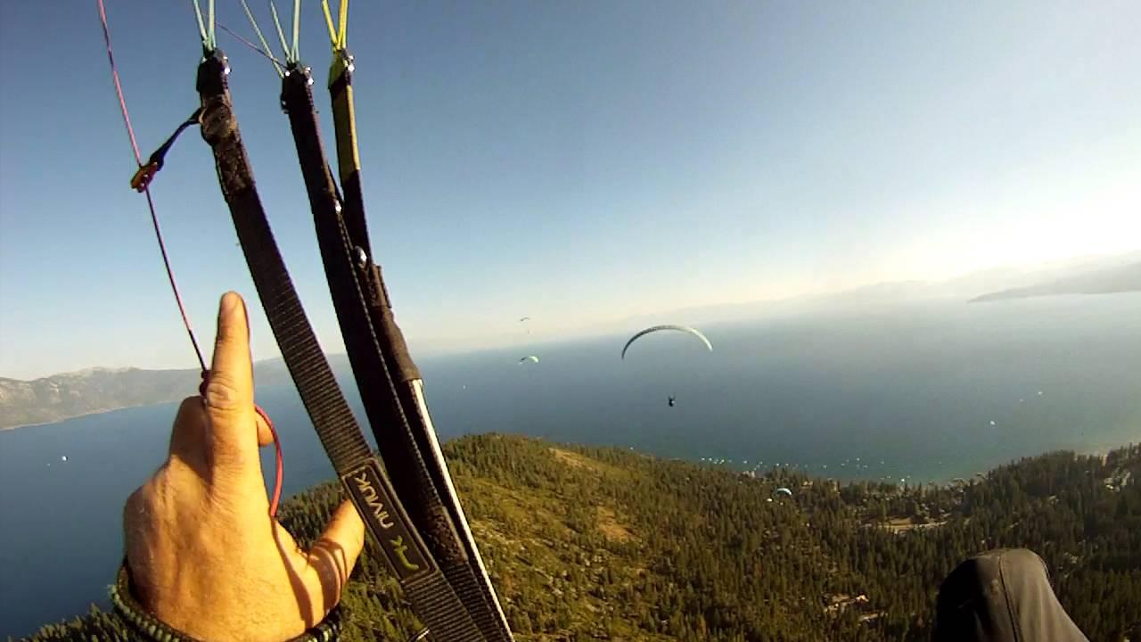 Tandem Flights - Lake Tahoe Paragliding