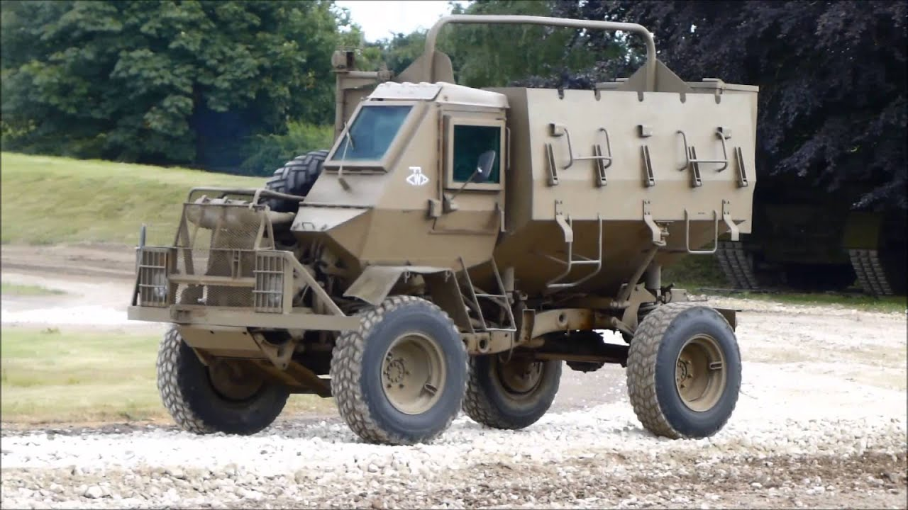 Army Vehicles For Sale >> Buffel - YouTube