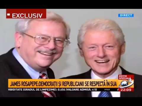 Mircea Badea cu Mihai Gadea - INTERVIU cu fostul Ambasador american in Romania, JAMES ROSAPEPE