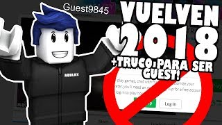 GUEST STA ROBLOX IN 2018 !!! HOW TO BE GUEST IN ROBLOX!!