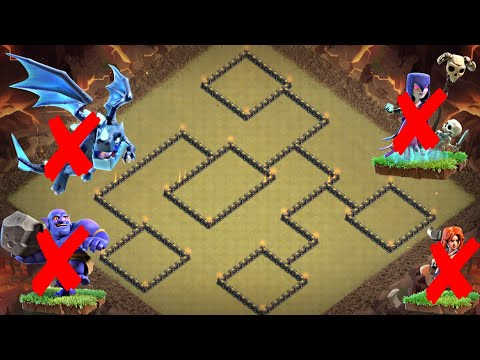 New Best Th9 War Base Layout 2019 | Tested In CWL | Defense Against Th10 Attack | Clash Of Clans
