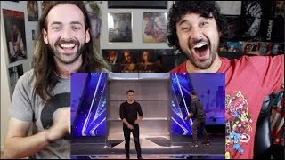 Demian Aditya: Escape Artist Risks His Life During AGT Audition - AMERICA'S GOT TALENT REACTION!!!