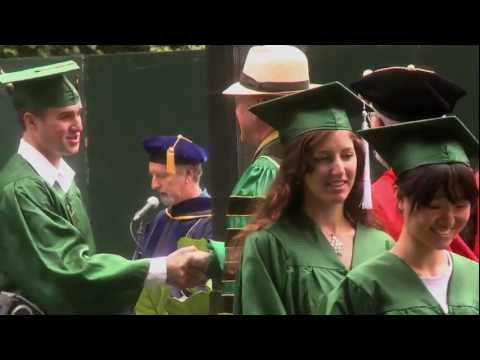 2011 Summer Commencement at the University of Oregon (HD)