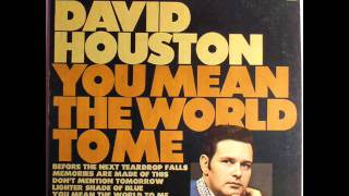 "David Houston ""I Remember You"""