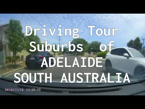 Touring Suburbs  Of ADELAIDE   SOUTH  AUSTRALIA